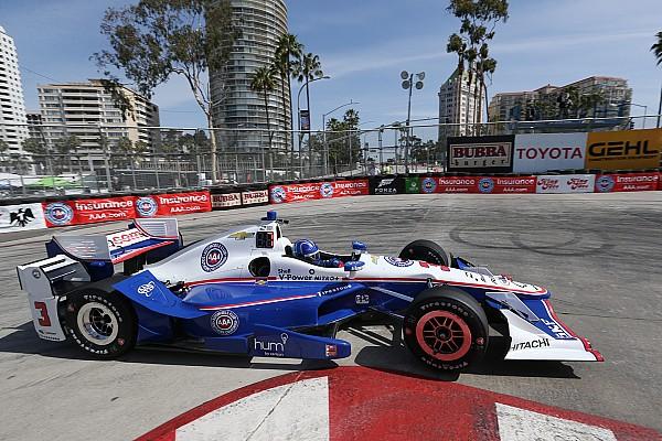 IndyCar Long Beach: Pole-Position für Castroneves, Fehler von Power
