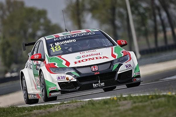 Victoria de Monteiro en la primera carrera