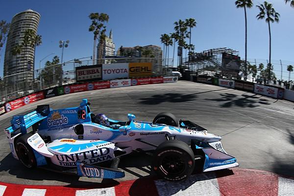 IndyCar IndyCar-Startaufstellung Long Beach