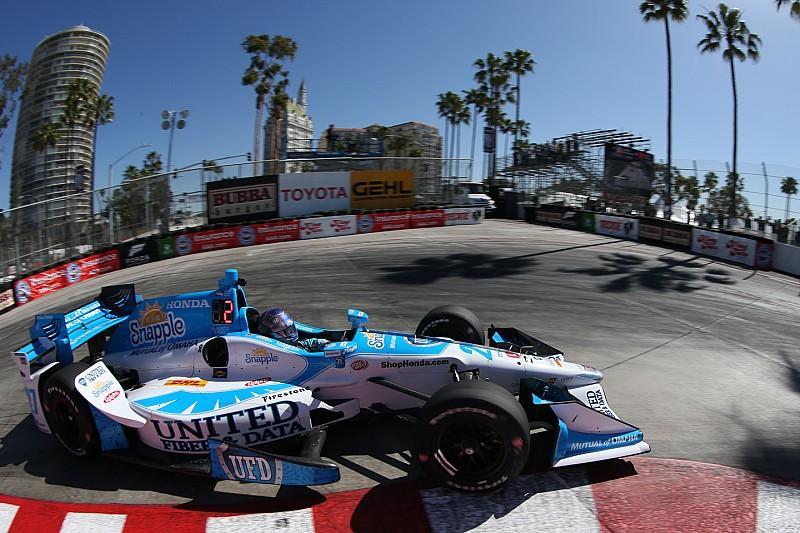 IndyCar-Startaufstellung Long Beach