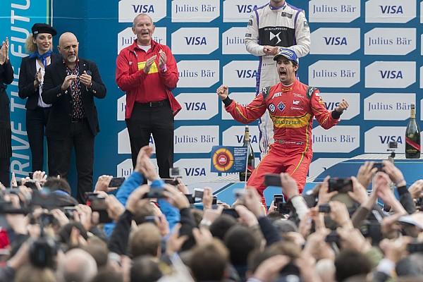 فورمولا إي دي غراسي يفوز بجائزة باريس للفورمولا إي