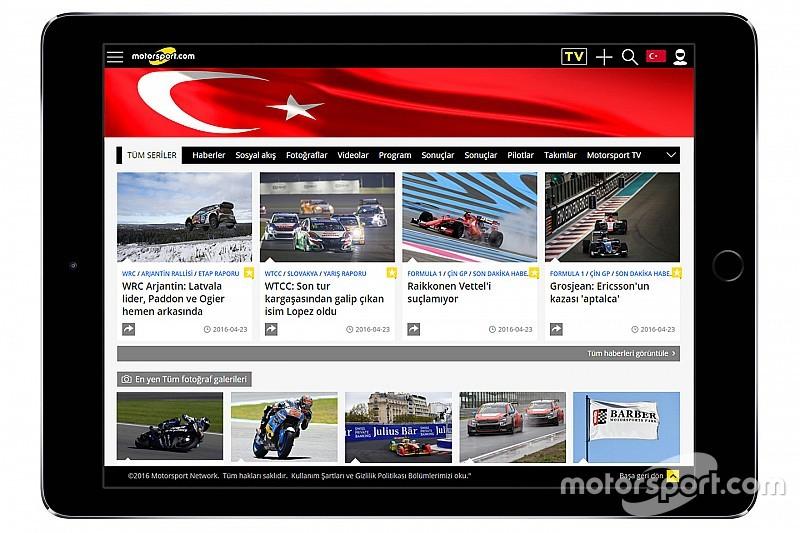 Motorsport.com breidt uit naar Turkije