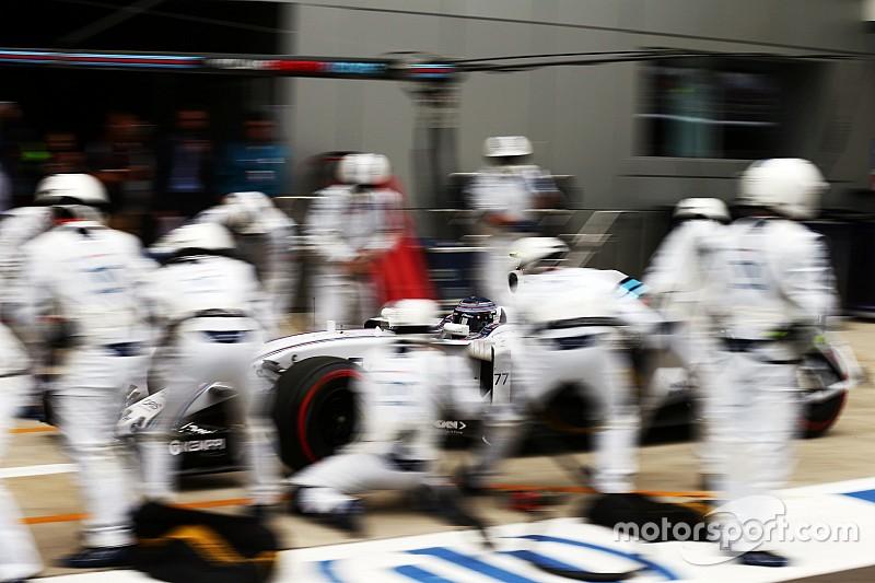 Análisis: Cómo Williams se ha convertido en el rey de los pitstop de la F1