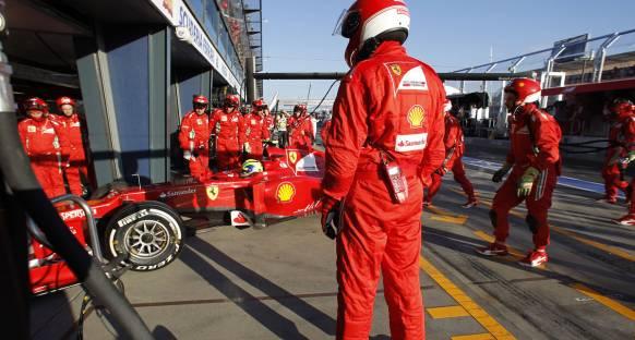 Massa ve Senna birbirlerini suçlamadılar