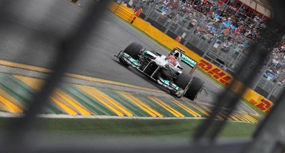 Avustralya'da ikinci seansın en hızlı ismi Schumacher