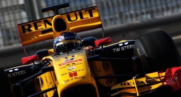 Pirelli'nin yeni test aracı Renault R30