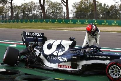 Yuki Tsunoda: Neue Power Unit und neues Getriebe nach Unfall in Q1