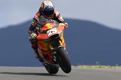Moto2 Portimao: Super-Rookie Fernandez setzt sich durch, böser Lowes-Crash
