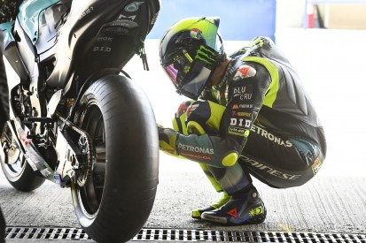 Formkrise: Valentino Rossi möchte den Michelin-Reifen nicht die Schuld geben
