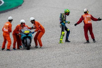 Sturz in Barcelona: Valentino Rossi rätselt über Reifenprobleme