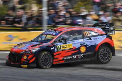 WRC Rallye Spanien 2021: Thierry Neuville setzt sich an der Spitze ab