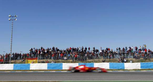 Alonso Jerez'de son gün Ferrari'yi zirveye taşıdı