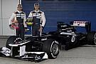 Williams da yeni aracı FW34'ü tanıttı