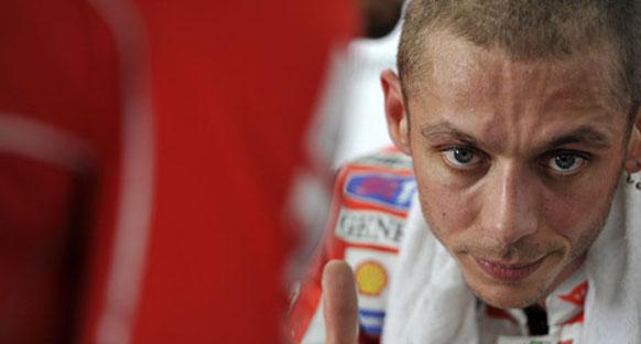Rossi: Su an geleceği düşünmüyorum