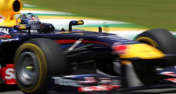 Vettel Brezilya'da da pole'ü alarak rekor kırdı