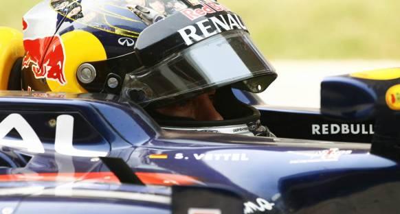 Hindistan Grand Prix 2011 sıralama turları - Yeniden Vettel
