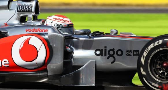 Japonya Grand Prix Cuma 2. antrenmanları - Button geçilmedi