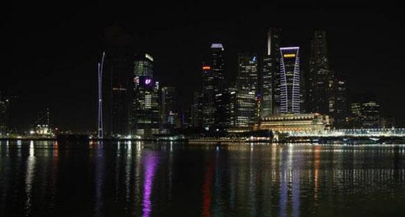 Singapur'da puslu bir hava olabilir