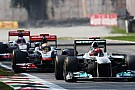 Schumacher'in Monza'daki telsiz konuşmaları