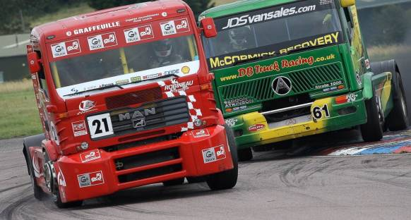 F1 yerine kamyon yarışları geliyor!