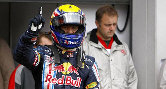 Webber: Vettel'in üstünlüğü sona erdi