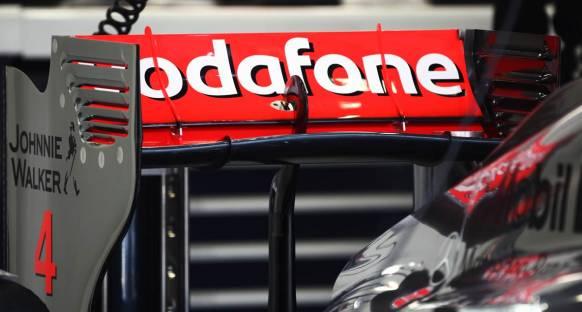 McLaren'in yeni DRS arka kanadı