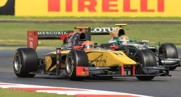 Grosjean aldığı galibiyet ile liderliğini pekiştirdi