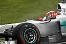 Schumacher: Verimli bir Cuma günü geçirdik