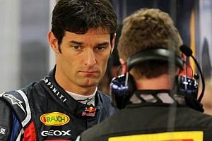 Formula 1 Son dakika Webber: Kariyerimi Red Bull'da noktalayacağım