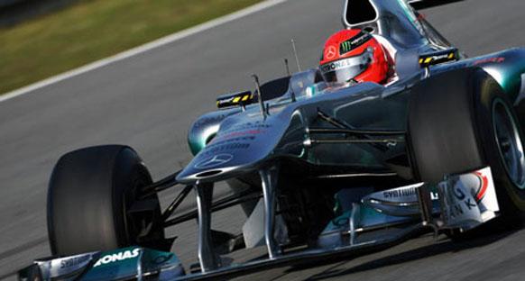 Schumacher şampiyonluk değil ama galibiyetler bekliyor