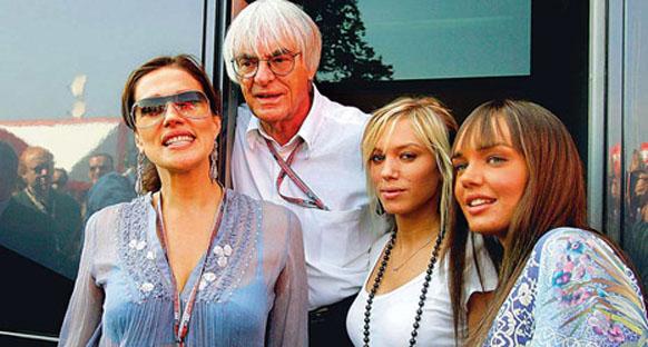 Ecclestone kızlarına servet harcadı