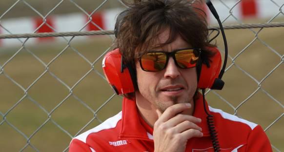 Alonso yeni Ferrari'yle ilk sürüşünü Valencia'da yapacak