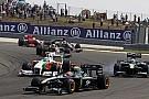 Performans kaybı Force India'nın kaderinde var