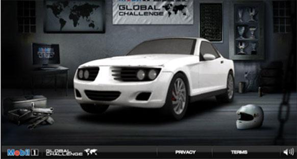 Mobil 1 Global Yarış Oyunu