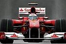 Belçika Grand Prix Cuma 1. antrenman turları - Alonso yağmur altında lider