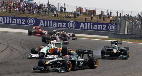Force India Lotus'un peşini bırakmıyor