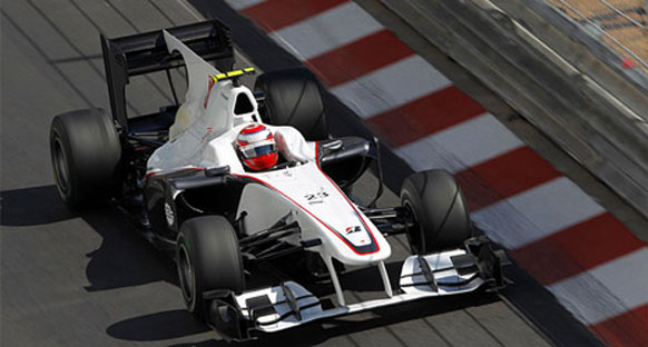 Sauber ilk puanını mutluluğunu yaşıyor