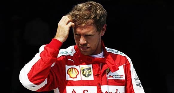 Vettel Bahreyn'de yarışa başlayamadı