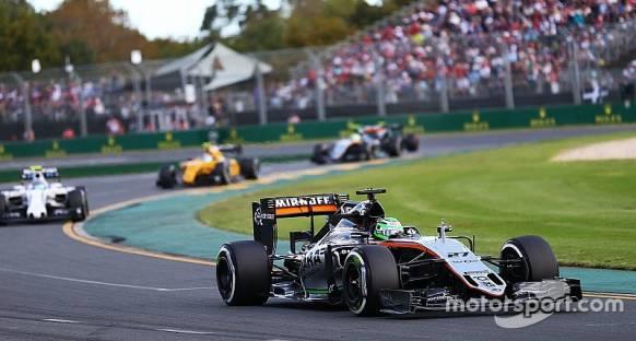 Kırmızı bayrak Force India'nın pitstop stratejisini bozmuş