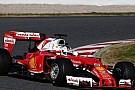 Testlerin son gününde Vettel lider