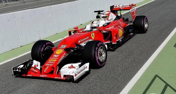 Barcelona testleri: Vettel'in liderliği devam ediyor