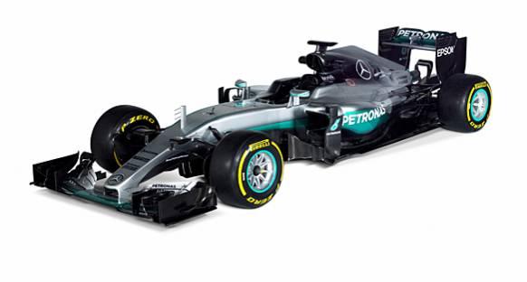 Mercedes 2016 aracını tanıttı
