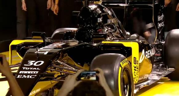 Karşınızda yeni Renault F1 RS16