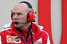 Jock Clear Ferrari için çalışmaya başladı
