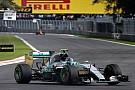 Zorlu Hermanos Rodriguez'de günü Rosberg lider tamamladı