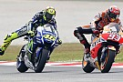 Yamaha: Marquez'in Rossi'yle girdiği mücadele sorgulanmalı
