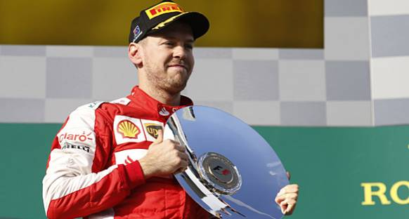 Vettel: Podyum serisi yakalamalıyız