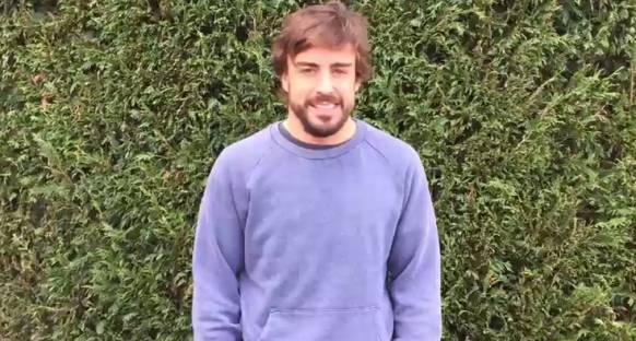 Alonso'dan mesaj var