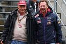 Лауда: Серйозні переговори з Red Bull і не починалися