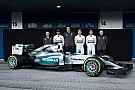 Презентация Mercedes F1 W06 Hybrid
